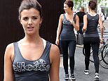 Mandatory Credit: Photo by Beretta/Sims/REX Shutterstock (4881287n)  Lucy Mecklenburgh  Lucy Mecklenburgh out and about, London, Britain - 25 Jun 2015