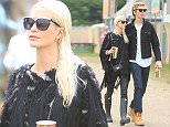 Glastonbury Festival 2015 - Day 3 - Celebrity Sightings Featuring: Poppy Delevingne, James Cook Where: Somerset, United Kingdom When: 26 Jun 2015 Credit: David Sims/WENN.com
