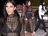 June 24th 2015 - Cannes ****** Exclusive Picture ****** Kylie Jenner and Tyga leaving the famous Baoli night club in Cannes. ****** BYLINE MUST READ : © Spread Pictures ****** ****** No Web Usage before agreement ****** ******Please hide the children's faces prior to the publication****** ****** Stricly No Mobile Phone Application or Apps use without our Prior Agreement ****** Enquiries at photo@spreadpictures.com