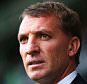 Brendan Rodgers, football manager of Liverpool looks on during the Barclays Premier League match between West Bromwich Albion and Liverpool at The Hawthorns in West Bromwich, England.     WEST BROMWICH, ENGLAND - APRIL 25:   (Photo by Matthew Lewis/Getty Images)