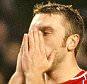 Liverpool's Rickie Lambert. Liverpool V Stoke.    Nov 29th 2014 - Liverpool, UK  PIcture by Ian Hodgson/Daily Mail