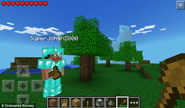 Minecraft launched in 2009. At the start of the game, a player is put into a 'virtually infinite game world.'
