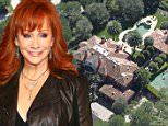 133885, Reba McEntire owns this charming estate in LA's exclusive Beverly Park neighborhood. The country superstar's 6 bedroom, 7 bathroom, 9,242 square foot home sits on nearly 2 acres in the guard gated community and features a pool and jacuzzi, a motor court with a fountain, and a tennis court. Los Angeles, California - Monday March 09, 2015. \\n\\nPHOTOGRAPH BY Celebrity Home Photos / Barcroft Media \\n\\nUK Office, London. \\nT +44 845 370 2233 \\nW www.barcroftmedia.com \\n\\nUSA Office, New York City. \\nT +1 212 796 2458 \\nW www.barcroftusa.com \\n\\nIndian Office, Delhi. \\nT +91 11 4053 2429 \\nW www.barcroftindia.com