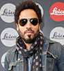 Rock star cool: Lenny Kravitz attends the vernissage 'Flash by Lenny Kravitz' in Wetzlar, Germany