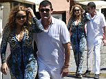 26.JUNE.2015 - PORTOFINO - ITALY..POP DIVA SUPERSTAR MARIAH CAREY WITH NEW BILLIONAIRE BOYFRIEND JAMES PACKER AFTER VISITING CAPRI AND COTE D'AZURE THEY HAVE ARRIVED IN PORTOFINO. TOURING THE FR..BYLINE MUST READ : XPOSUREPHOTOS.COM..*AVAILABLE FOR UK SALE ONLY*..***UK CLIENTS - PICTURES CONTAINING CHILDREN PLEASE PIXELATE FACE PRIOR TO PUBLICATION ***..*THIS IMAGE IS STRICTLY FOR PAPER AND MAGAZINE USE ONLY - NO WEB ALLOWED USAGE UNLESS PREVIOUSLY AGREED. PLEASE TELEPHONE 0208 344 2007*