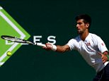 STOKE POGES, ENGLAND - JUNE 26:  Novak Djokovic of Serbia during a practice session ahead of Day 4 of The Boodles Tennis Event at Stoke Park on June 26, 2015 in Stoke Poges, England.  (Photo by Jordan Mansfield/Getty Images)