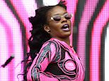 Singer Azealia Banks performs on stage at Wireless Festival at Finsbury Park in London, United Kingdom on July 5, 2014.    LONDON, ENGLAND - JULY 05:   (Photo by Tim P. Whitby/Getty Images)