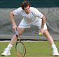 Wimbledon tennis, Andy Murray trains with Songa at Aorangi  park.   Picture Andy Hooper Daily Mail/ Solo Syndication pic shows Murray and Mauresmo his coach