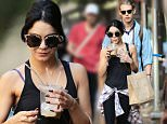 Picture Shows: Vanessa Hudgens, Austin Butler  June 26, 2015\n \n Happy couple Vanessa Hudgens and Austin Butler are spotted out and about in New York City, New York. Vanessa is still in town enjoying NYC even though her play 'Gigi' recently ended on June 21st. \n \n Non-Exclusive\n UK RIGHTS ONLY\n \n Pictures by : FameFlynet UK © 2015\n Tel : +44 (0)20 3551 5049\n Email : info@fameflynet.uk.com