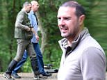 Mandatory Credit: Photo by MCPIX/REX Shutterstock (4883629h)\n Paddy McGuinness plays park keeper and survivalist enthusiast Dougie Ryan in Coronation Street.\n Coronation Street Location Filming, Cheshire, Britain - 26 Jun 2015\n \n