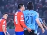 CAVANI BUM FINGER
