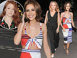 27.JUNE.2015  - LONDON  - UK *** EXCLUSIVE ALL ROUND PICTURES - STRICTLY AVAILABLE FOR UK NEWSPAPERS WITH £500 MINIMUM USAGE FEE *** CHERYL FERNANDEZ-VERSINI AND FORMER GIRLS ALOUD BANDMATES KIMBERLEY WALSH AND NICOLA ROBERTS GO FOR DINNER AT THE VERY TRENDY WEST THIRTY SIX IN NOTTING HILL. THE GIRLS SHOWED OFF THEIR OUTFITS AND THEIRS SMILES AS THEY ARRIVED BYLINE MUST READ : XPOSUREPHOTOS.COM ***UK CLIENTS - PICTURES CONTAINING CHILDREN PLEASE PIXELATE FACE PRIOR TO PUBLICATION *** **UK CLIENTS MUST CALL PRIOR TO TV OR ONLINE USAGE PLEASE TELEPHONE  442083442007