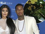 Kylie Jenner and her boyfriend Tyga pose during a photo call at the Cannes Lions 2015, International Advertising Festival in Cannes, southern France, Wednesday, June 24, 2015. (AP Photo/Lionel Cironneau)