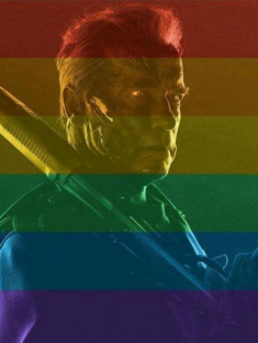 Arnold Schwarzenegger terminates fan who didn't like his gay marriage picture