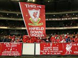 Liverpool fans show their support during the match between the Melbourne Victory and Liverpool at the Melbourne Cricket Ground in Melbourne, Australia.     (Photo by Michael Dodge/Getty Images) MELBOURNE, AUSTRALIA - JULY 24 2013