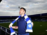 Jamie Mackie poses on his return to QPR