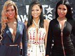 Mandatory Credit: Photo by Rob Latour/REX Shutterstock (4885461at)\n Nicki Minaj\n BET Awards, Los Angeles, America - 28 Jun 2015\n \n