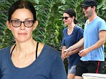 Courteney Cox and her fiance, Johnny McDaid were dressed in complimentary shades of blue, shopping for new home decor at M Boutique, in Malibu, on Saturday, June 27, 2015 X17online.com\\nNO WEB SITE USAGE AT 30PP\\nMAGAZINES DOUBLE FEES\\nAny queries call X17 UK Office 0034 966 713 949\\nGary 0034 686421720\\nLynne 0034 611100011 \\nAlasdair 0034 965998830