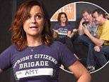 NEW YORK, NY - JUNE 26: Amy Poehler performs on stage at UCB Theater Presents: The 17th Annual Del Close Improv Comedy Marathon Press Conference at the Upright Citizens Brigade Theatre Chelsea on June 26, 2015 in New York City.  (Photo by Gary Gershoff/WireImage)
