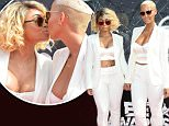 LOS ANGELES, CA - JUNE 28:  Models Blac Chyna (L) and Amber Rose attend the 2015 BET Awards at the Microsoft Theater on June 28, 2015 in Los Angeles, California.  (Photo by Frederick M. Brown/Getty Images for BET)