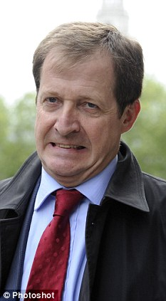 Rottweiler: Tony Blair's controversial former spin doctor Alastair Campbell (above) has taken a lucrative job with PR firm Portland