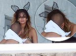 28.JUNE.2015 - MYKONOS - GREECE\n*** EXCLUSIVE PICTURES FOR UK AND USA SALES ONLY ***\n***STRICTLY NOT AVAILABLE FOR ONLINE USE***\nSINGER NICOLE SCHERZINGER SEEN SMOOCHING NEW MAN EX FULHAM FOOTBALLER PAJTIM KASAMI WHILE WEARING SEXY BUNNY EARS WHILE ON HOLIDAY IN GREECE.\nBYLINE MUST READ : XPOSUREPHOTOS.COM\n***UK CLIENTS - PICTURES CONTAINING CHILDREN PLEASE PIXELATE FACE PRIOR TO PUBLICATION ***\n**UK CLIENTS MUST CALL PRIOR TO TV OR ONLINE USAGE PLEASE TELEPHONE 44 208 370 0291**
