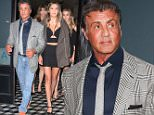 West Hollywood, CA - Sylvester Stallone arrives for dinner with his girls at Craig's in West Hollywood. The actor was joined by his lovely wife Jennifer Flavin and their three daughters Sistine Rose, Sophia Rose and Scarlet Rose.\nAKM-GSI         June  27, 2015\nTo License These Photos, Please Contact :\nSteve Ginsburg\n(310) 505-8447\n(323) 423-9397\nsteve@akmgsi.com\nsales@akmgsi.com\nor\nMaria Buda\n(917) 242-1505\nmbuda@akmgsi.com\nginsburgspalyinc@gmail.com