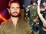 LAS VEGAS, NV - JUNE 26:  Scott Disick hosts at 1 OAK Nightclub at The Mirage Hotel & Casino on June 26, 2015 in Las Vegas, Nevada.  (Photo by Denise Truscello/WireImage)