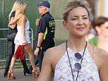 MUST BYLINE: EROTEME.CO.UK\nGwyneth Paltrow and Kate Hudson link arms at the  Taylor Swift concert during Barclaycard British Summer Time event held in Hyde Park.\nEXCLUSIVE    June 28,  2015\nJob: 150628L11  London, England\nEROTEME.CO.UK\n44 207 431 1598\nRef:  341629\n