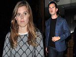 Princess Beatrice and Jimmy Carr seen having dinner together at Roka restaurant. London. UK\n\nRef: SPL1066879  290615  \nPicture by: RV\n\nSplash News and Pictures\nLos Angeles: 310-821-2666\nNew York: 212-619-2666\nLondon: 870-934-2666\nphotodesk@splashnews.com\n