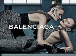 KATE AND LARA GET CLOSE IN NEW MODEL SHOOT \n\nTop models Kate Moss and Lara Stone land the fall-winter 2015 campaign from Balenciaga. The pair model for Steven Klein in a series of carefully posed images wearing the new season¿s tailored designs. Both wearing sleek and polished hairstyles, Kate and Lara exude sophistication with sensuality in the fall advertisements.\n\n75596\nEDITORIAL USE ONLY
