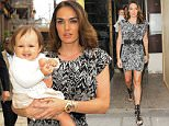 Picture Shows: Sophia Ecclestone-Rutland, Tamara Ecclestone  June 28, 2015\n \n Heiress Tamara Ecclestone arrives at Kai Mayfair in London with her husband, Jay Rutland and daughter, Sophia. Tamara looked casual and chic in a print mini dress and sandals, and carried a happy Sophia in her arms.\n \n Non-Exclusive\n WORLDWIDE RIGHTS\n \n Pictures by : FameFlynet UK © 2015\n Tel : +44 (0)20 3551 5049\n Email : info@fameflynet.uk.com