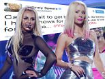 LAS VEGAS, NV - MAY 15:  Britney Spears and Iggy Azalea perform at the 2015 Billboard Music Awards on May 15, 2015 in Las Vegas, Nevada.  The Billboard Awards will air on May 17, 2015.  (Photo by Denise Truscello/Getty Images for Britney Spears)