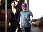 EXCLUSIVE: Daniel Radcliffe and girlfriend Erin Darke take a late night stroll through the West Village in NYC.   Pictured: Daniel Radcliffe and Erin Darke Ref: SPL1061261  290615   EXCLUSIVE Picture by: XactpiX/Splash News  Splash News and Pictures Los Angeles: 310-821-2666 New York: 212-619-2666 London: 870-934-2666 photodesk@splashnews.com