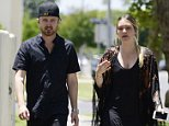 EXCLUSIVE: Romantic couple Aaron Paul his wife Lauren Parsekian enjoy a lunch date at sugar fish in LA!  Pictured: Aaron Paul, Lauren Parsekian Ref: SPL1066160  290615   EXCLUSIVE Picture by: M A N I K (NYC)/Splash News  Splash News and Pictures Los Angeles: 310-821-2666 New York: 212-619-2666 London: 870-934-2666 photodesk@splashnews.com