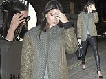 1 Jul 2015 - LONDON - UK  KENDALL JENNER ARRIVES AT CHILTERN FIREHOUSE ON TUESDAY 1ST JULY. THE REALITY STAR SHEILDED HER FACE AS SHE ENTERED.  BYLINE MUST READ : XPOSUREPHOTOS.COM  ***UK CLIENTS - PICTURES CONTAINING CHILDREN PLEASE PIXELATE FACE PRIOR TO PUBLICATION ***  **UK CLIENTS MUST CALL PRIOR TO TV OR ONLINE USAGE PLEASE TELEPHONE   44 208 344 2007 **