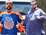 August 15, 2013.. .. 'Jersey Girl' actor Kevin Smith out walking his cute dog on a hot day in Hollywood... .. Exclusive All Rounder.. UK RIGHTS ONLY.. Pictures by : FameFlynet UK © 2013.. Tel : +44 (0)20 3551 5049.. Email : info@fameflynet.uk.com