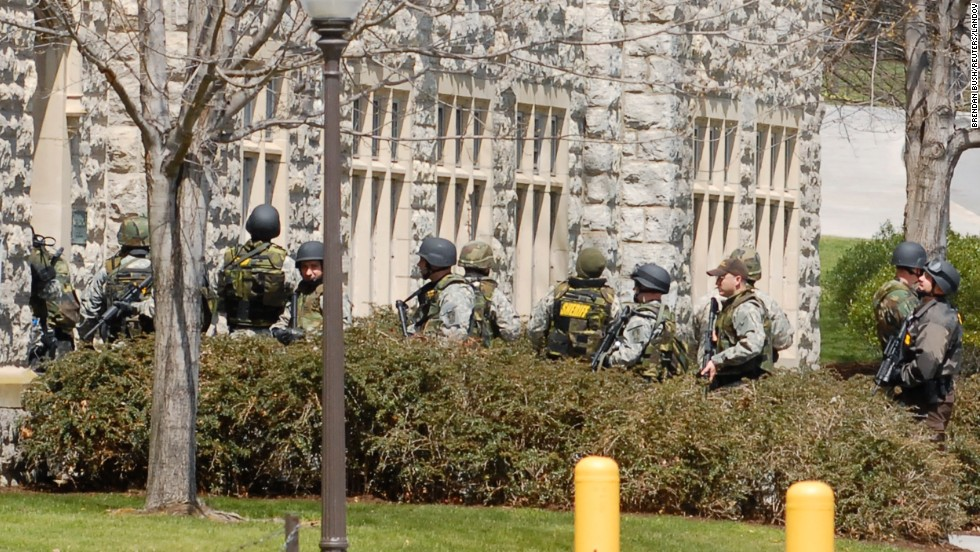 "<a href=""http://www.cnn.com/SPECIALS/2007/virginiatech.shootings/"" target=""_blank"">Virginia Tech</a> student Seung-Hui Cho went on a shooting spree on the campus in Blacksburg, Virginia, on April 16, 2007. Cho killed two people at the West Ambler Johnston dormitory and, after chaining the doors closed, killed another 30 at Norris Hall, home to the Engineering Science and Mechanics Department. He wounded 17 people before killing himself. It is the deadliest shooting rampage in U.S. history."
