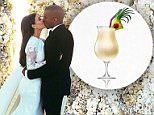 """EROTEME.CO.UKFOR UK SALES: Contact Caroline 44 207 431 1598 Kim Kardashian, new husband Kanye West, mom Kris Jenner, sister Khloe Kardashian and their friends share new favorite moments from Kim and Kanye's Italian nuptials and French weddding celebrations on their social media accounts.Picture shows: Kanye West kissing new bride Kim Kardashian against a backdrop of a wall of white flowers at their wedding ceremony in Florence, Italy in a new picture Kanye shared today on his social media Twitter account, wife Kim Kardashian shared on her Instagram social media account, and new mother-in-law Kris Jenner shared on her social media Instagram account. Posting the pic on his Instagram social media account as well, the rapper stated: """"Dreams do come true.""""  Kris Jenner said of the pic she posted: """"Mr. and Mrs. Kanye West!! #Love #FlorenceItaly"""".  Kim Kardashian captioned the pic she shared on her Instagram account(symbol or emoji for a wedding riNON-EXCLUSIVE     May 28, 2 140528B2 Hollywo"""