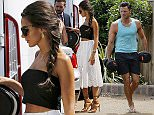Picture Shows: Michelle Keegan  July 01, 2015    Former 'Coronation Street' actress Michelle Keegan is seen leaving her home in Essex, England.    The soap star, who married Mark Wright in May, was wearing a black crop top, an eyelet lace white skirt and tan-coloured sandals as she made her way to a waiting car.    Exclusive  WORLDWIDE RIGHTS    Pictures by : FameFlynet UK © 2015  Tel : +44 (0)20 3551 5049  Email : info@fameflynet.uk.com