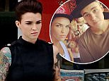July 1, 2015 Ruby Rose wears a cute mod dress as she makes a pit stop at the 7-11 today in Los Angeles, California. ..Mandatory creditt: Fresh/INFphoto.com Ref.: infusla-284