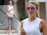 Alex Gerrard hits the gym for the 3rd day in a row, Alex was trying to take a selfie with Beverly hills as her backdrop as she picks up breakfast.\n\nPictured: Alex Gerrard\nRef: SPL1067916  010715  \nPicture by: Brewer / Brooks / Splash News\n\nSplash News and Pictures\nLos Angeles: 310-821-2666\nNew York: 212-619-2666\nLondon: 870-934-2666\nphotodesk@splashnews.com\n