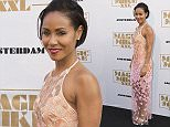 """AMSTERDAM, NETHERLANDS - JULY 1: Jada Pinkett Smith attends the Amsterdam premiere of """"Magic Mike XXL"""" on July 1, 2015 in Amsterdam, Netherlands.  (Photo by Michel Porro/Getty Images)"""