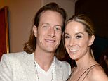 """LAS VEGAS, NV - MAY 17:  Singer Tyler Hubbard of Florida Georgia Line (L) and Hayley Stommel attend the Nick Jonas """"Live In Concert"""" Tour Announcement and Billboard Music Awards After Party at The Mansion at the MGM Grand on May 17, 2015 in Las Vegas, Nevada.  (Photo by Kevin Mazur/BMA2015/WireImage)"""