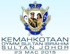 Laman Web Rasmi Kemahkotaan DYMM Sultan Ibrahim, Sultan Johor