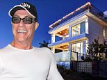 EXCLUSIVE: Jean-Claude Van Damme snapped up the mansion by the sea in California for $6million in 2013. \nThe palatial Marina Del Reypad includes six bedrooms and eight bathrooms in it's 7,574 square feet.\nThe 51-year-old 'Muscles From Brussels' may have been out of the limelight but he certainly giving a roundhouse kick to the property ladder -- asking for $9.9million -- which would be a tidy profit for his two-years at the pad.\nLuxury features include a commercial elevator, a 3D theater with a HiFi wireless home music Sono system, a bar, a billiard room, a gym and recreation room and a library.\nIn addition to a total of eight fireplaces, the home boasts a master suite with his and hers baths, and a steam shower.\nTo top off the modern masterpiece, there is a rooftop complete with an organic garden and a swim jet hydro spa, fire pits and waterfalls.\nSet in the prestigious canal-side neighborhood of Marina Del Rey, the home has views to the ocean and for security, the area comes e