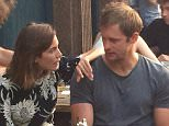 Splash News and Pictures EXCLUSIVE: Alexa Chung and Alexander Skarsgaard spotted at a London pub together. (Picture taken: 01/07/2015) ----------------------------------- For further sales information please contact our sales teams at sales@splashnews.com