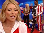 """""""Live with Kelly & Michael"""" Celebrate the 4th"""