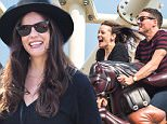 EXCLUSIVE: Liv Tyler decided to celebrate her 38th birthday with her family on breathtaking roller coasters at the famous Coney Island in Brooklyn, New York.\n\nPictured: Liv Tyler and Dave Gardner\nRef: SPL1067531  010715   EXCLUSIVE\nPicture by: Splash News\n\nSplash News and Pictures\nLos Angeles: 310-821-2666\nNew York: 212-619-2666\nLondon: 870-934-2666\nphotodesk@splashnews.com\n