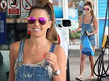 03.JULY.2015 - BIRMINGHAM - UK *** EXCLUSIVE ALL ROUND PICTURES *** ENGLISH GLAMOUR MODEL DANIELLE LLOYD IS SEEN GETTING PETROL FROM A LOCAL PETROL STATION IN BIRMINGHAM, ENGLAND. DANIELLE WAS IN A GOOD MOOD SMILING AS SHE LEFT THE KIOSK WITH A FEW SHOPPING BITS IN HER HAND. BYLINE MUST READ : XPOSUREPHOTOS.COM ***UK CLIENTS - PICTURES CONTAINING CHILDREN PLEASE PIXELATE FACE PRIOR TO PUBLICATION *** **UK CLIENTS MUST CALL PRIOR TO TV OR ONLINE USAGE PLEASE TELEPHONE 0208 344 2007**